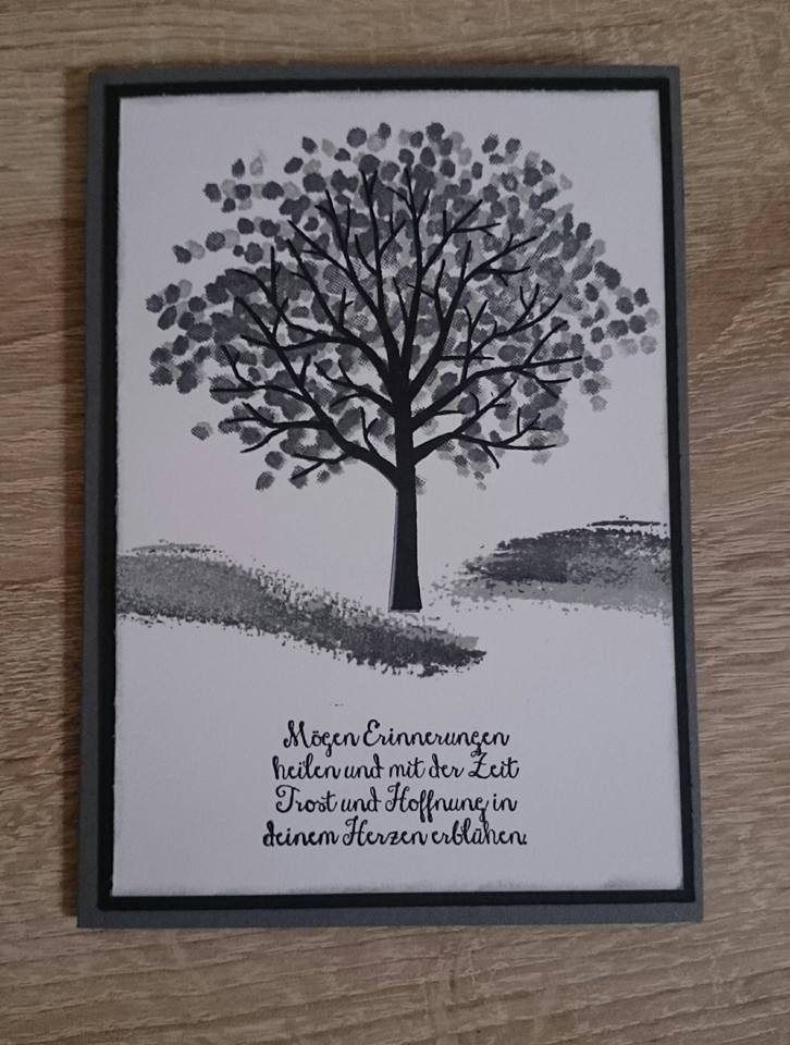 kreativ verliebt beileidskarte crafting condolence pinterest. Black Bedroom Furniture Sets. Home Design Ideas