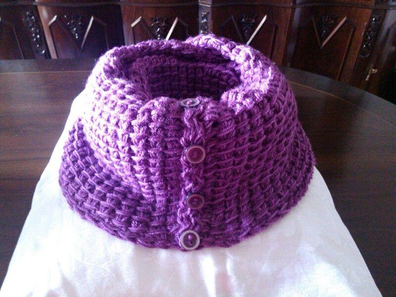 Gola em trico adosinda