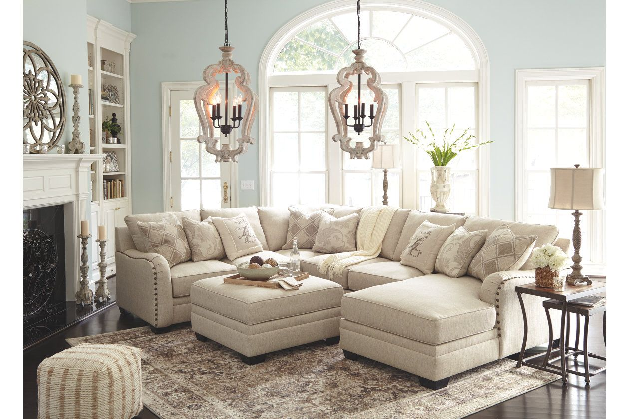 Best Luxora 4 Piece Sectional With Chaise With Images 640 x 480