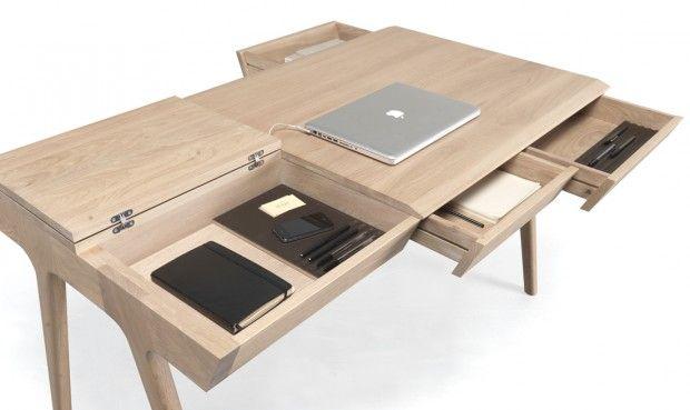 Bureau metis par gonçalo campos pour wewood bureaus desks and