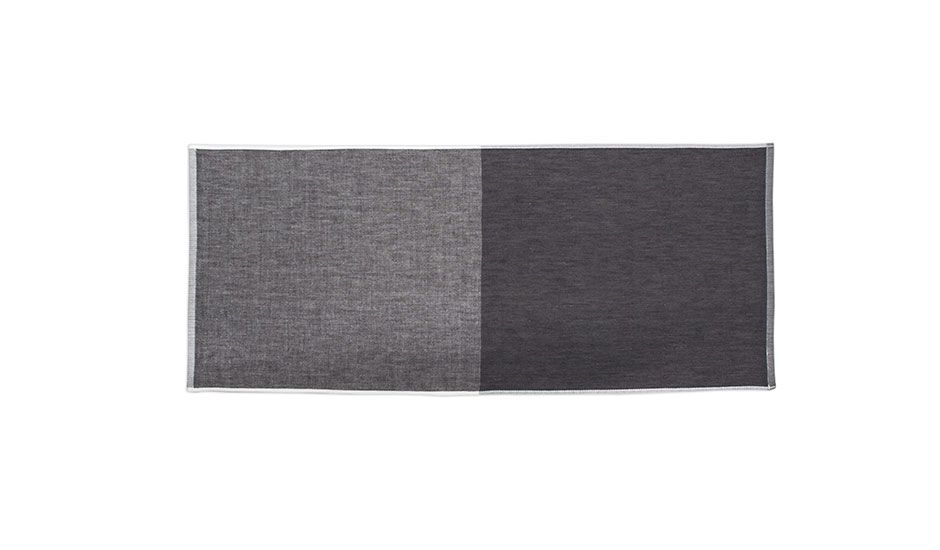 Hand Towel - Black/Grey by Yoshii Towel