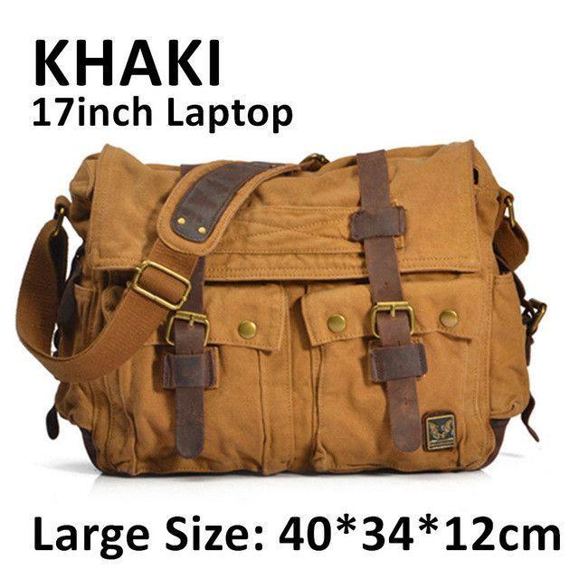 I AM LEGEND Will Smith Men Messenger Bags Military Vintage Canvas Crossbody Bags Laptop Satchel Designer Handbags Shoulder Bags
