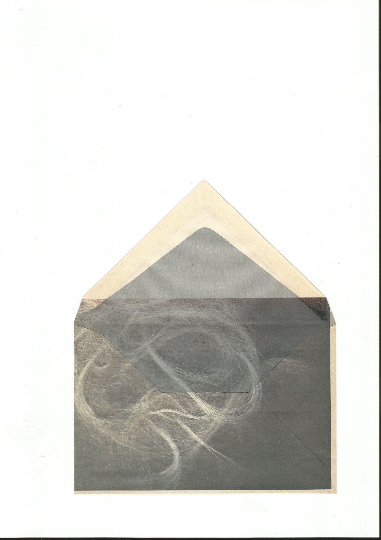 Envelope Series #7 - 2012 - found envelope, inkjet print - A5 - Benjamin Sebastian