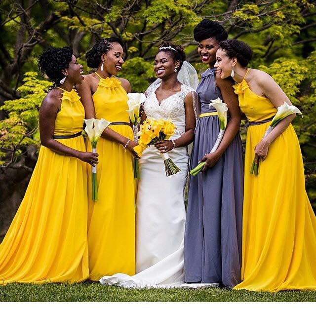 Bronx Wedding By Patricia Kantzos Photography Yellow Bridesmaid Dresses Yellow Bridesmaids Bridesmaid Colors