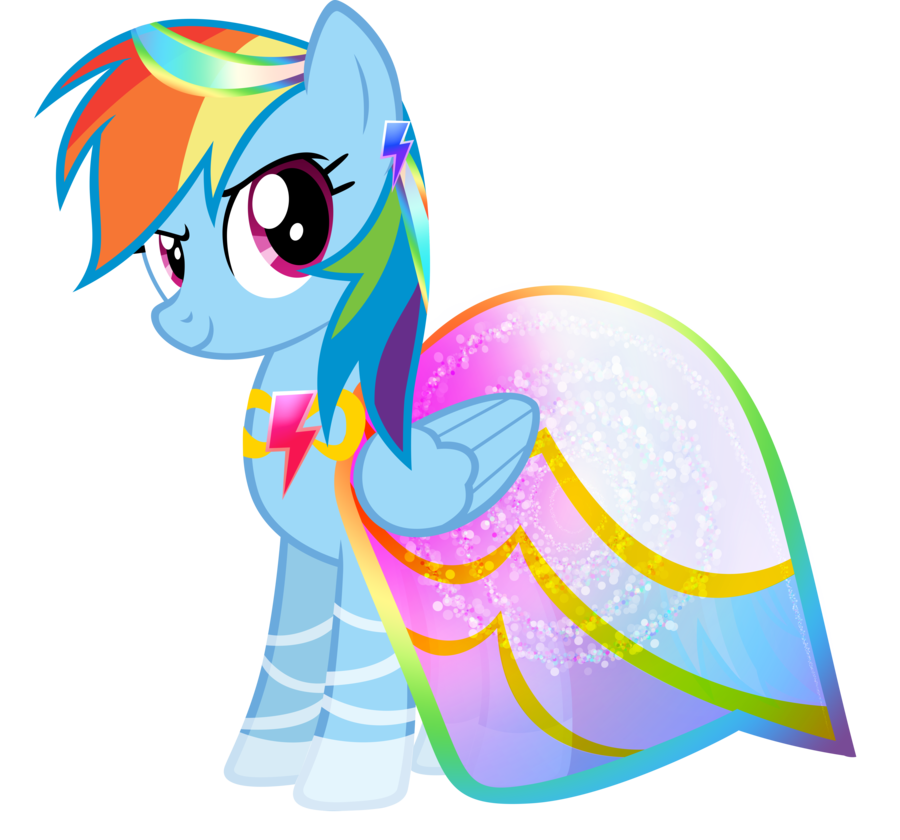 Mlp Fim In Dresses Google Search Con Imagenes Rainbow Dash