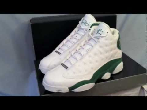 separation shoes 43a8b 26e8b Premier Jordan Retro 13 Ray Allen PE Tune in to www.YouTube.com joevenuto  for limited edition and early release sneaker reviews.