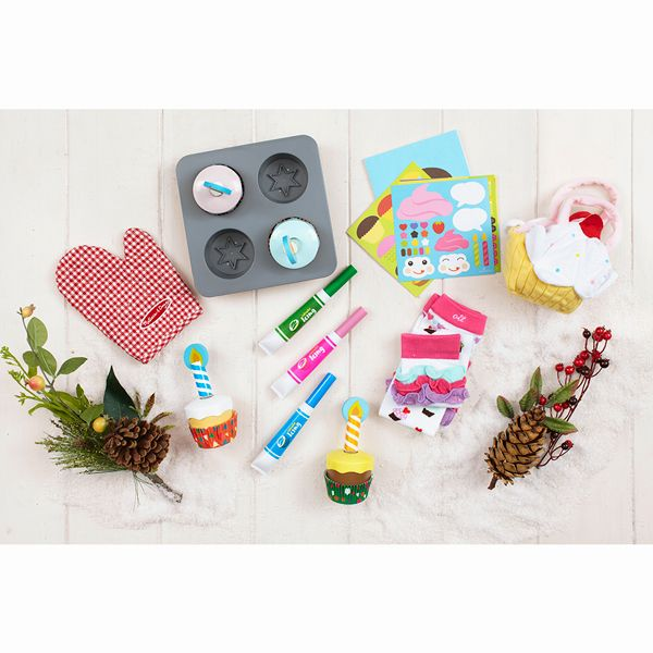 Tucked inside this carefully selected gift box are the tools to let your budding baker get to work with Melissa and Doug Bake & Decorate Cupcake Set, Hello Hanna Cupcake Book, North American Bear Cupcake Goody bag, and ever so stylish Cupcake Leggings from Ooh La Leggies. Enter code THANKS15 for 15% OFF. Offer ends 11/30/14 at 11:59pm PT.