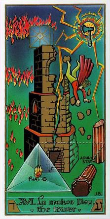 The Tower - Masonic Tarot -If you love Tarot, visit me at