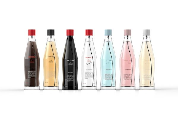 A Packaging Concept For Coca-Cola's Line Of Perfume