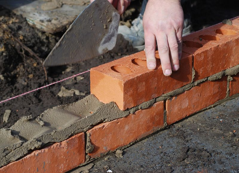 Learn All About Building Construction And Building Materials Explained Clearly And Simply Building A Brick Wall Diy Brick Wall Brick Wall