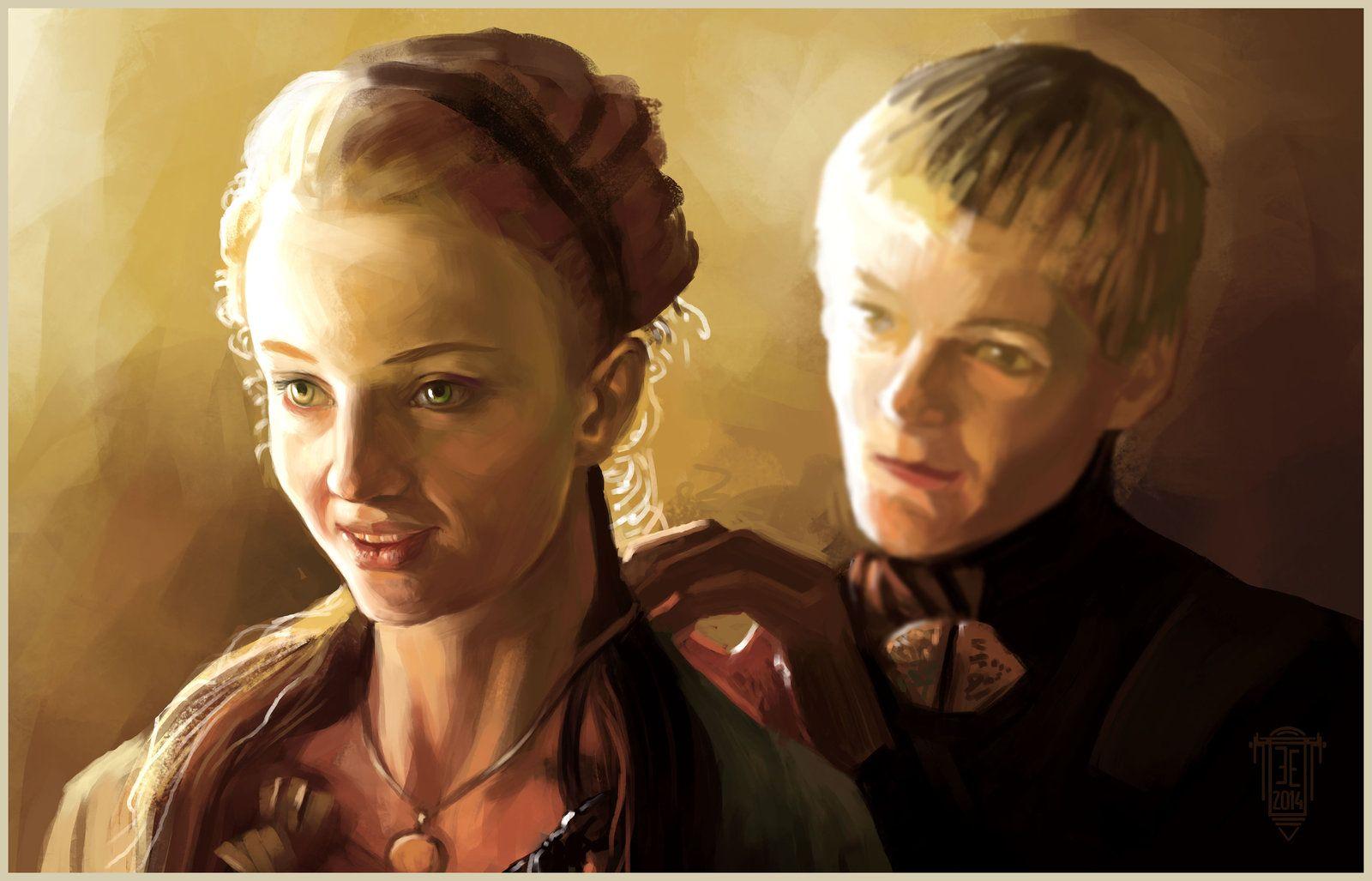 joffrey baratheon & Sansa Stark  Fanart GoT