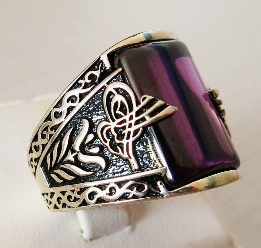 Amethyst Bracelet In 925 Sterling Silver
