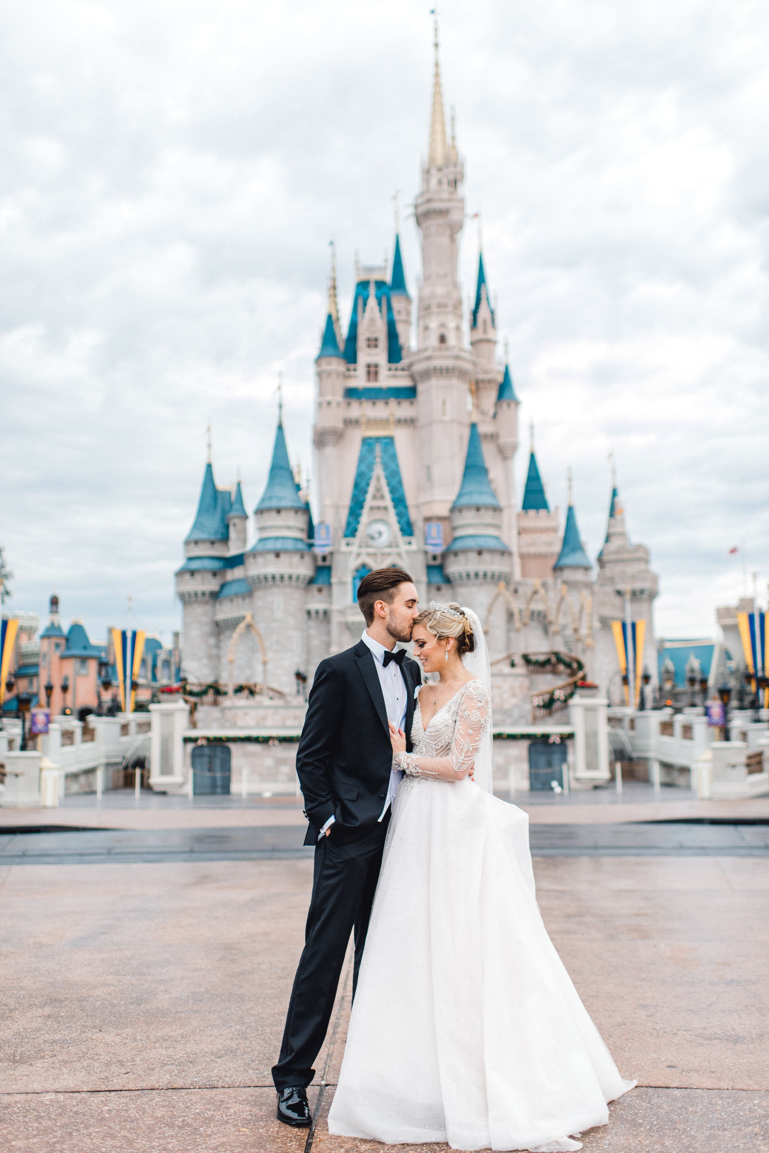 Disney S Fairy Tale Weddings Disney World Wedding Disney Bride Disney Wedding