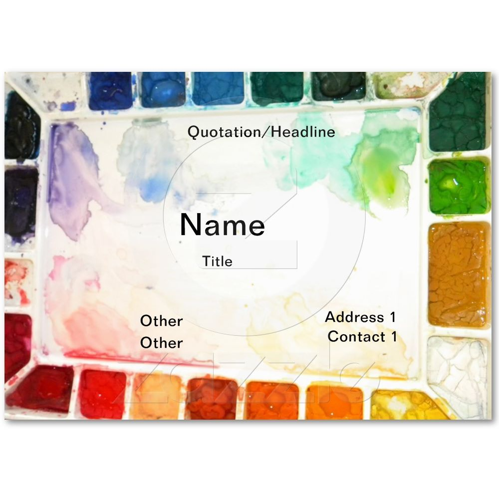 Art teacher and painter cards business cards business and artist art teacher and painter cards magicingreecefo Gallery