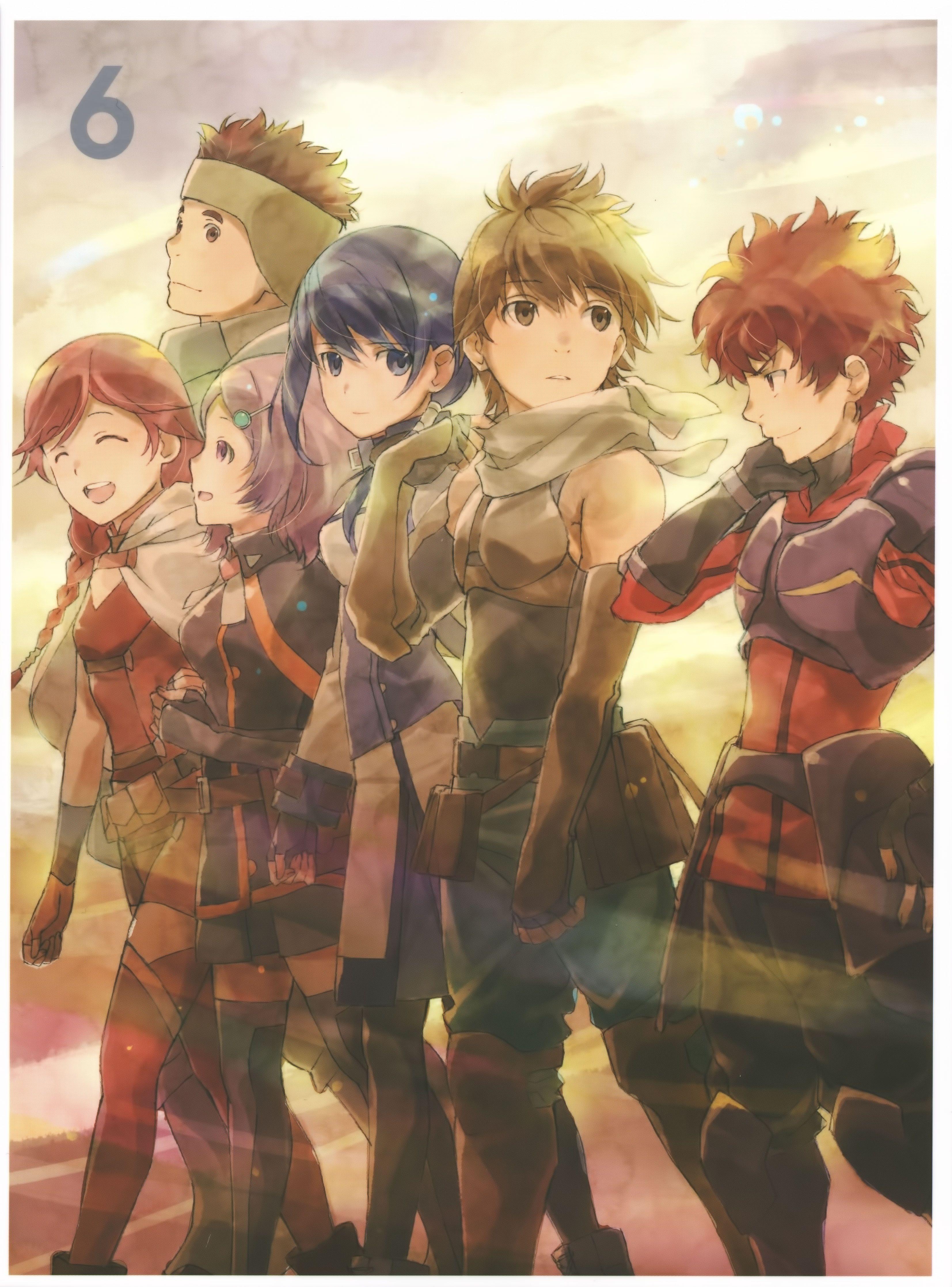 6 Fav Hai To Gensou No Grimgar Anime Anime Artwork Anime Images