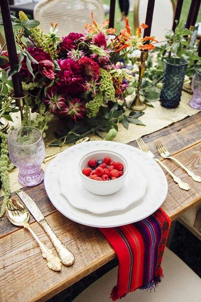 77 originelle Beispiele für ausgefallene Tischdeko | Tischdeko ...