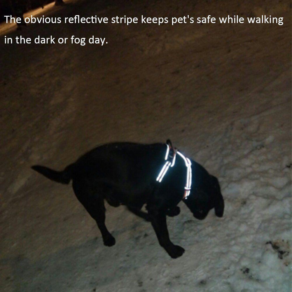 Adjustable Dog Harness Treat Me Heavy Duty 3m Reflective Pet Vest