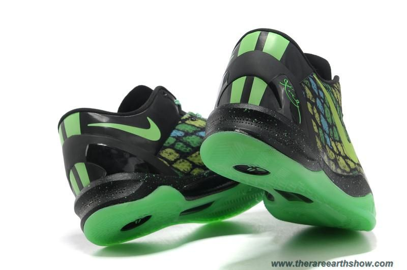 online store 0d0d7 990b9 Cheap Year Of The Snake Mamba Black Green 555035 105 Nike Kobe 8 System