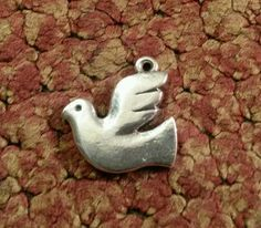 James Avery Retired Hope Dove Bird Pendant Charm Milagros Collection #JamesAvery