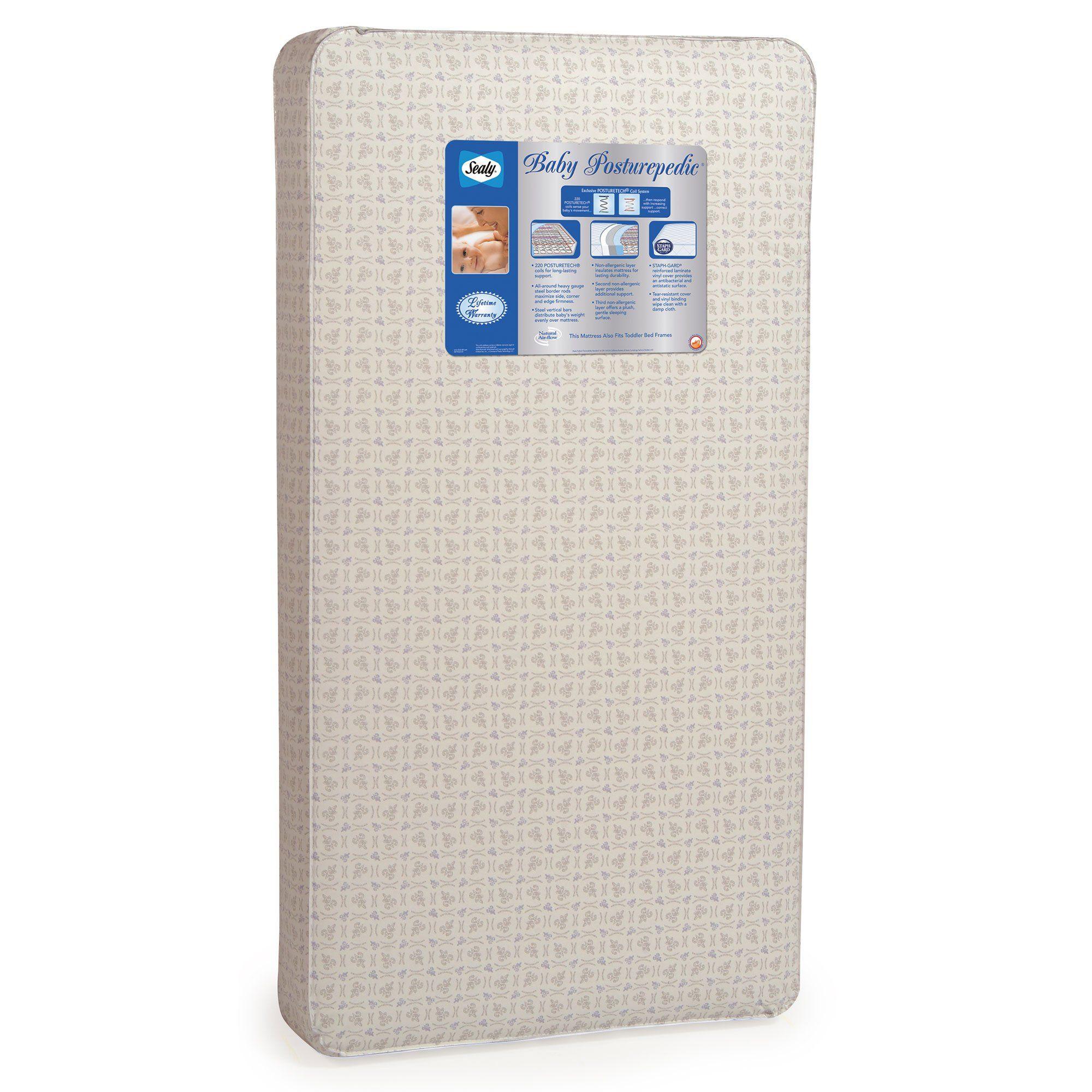 Crib Mattress Sealy Baby Posturepedic Crib mattress