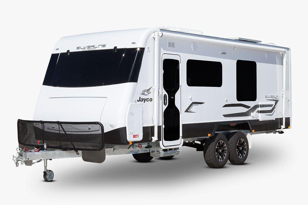 Jayco Silverline Outback Caravan site, Caravan park