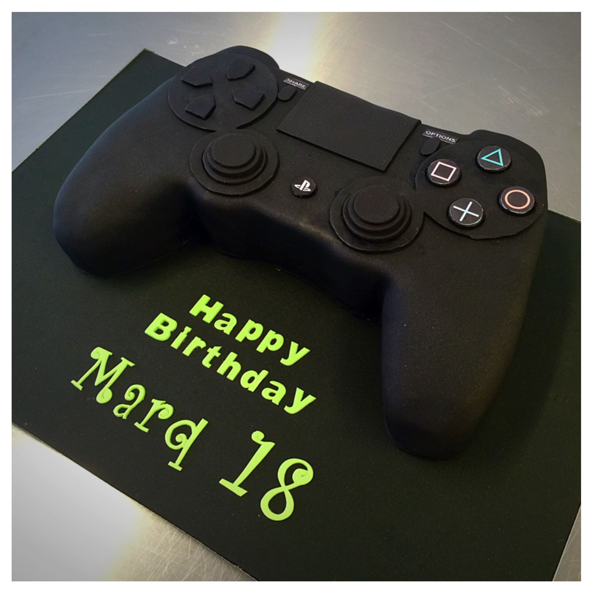 Playstation Birthday Cake 2019