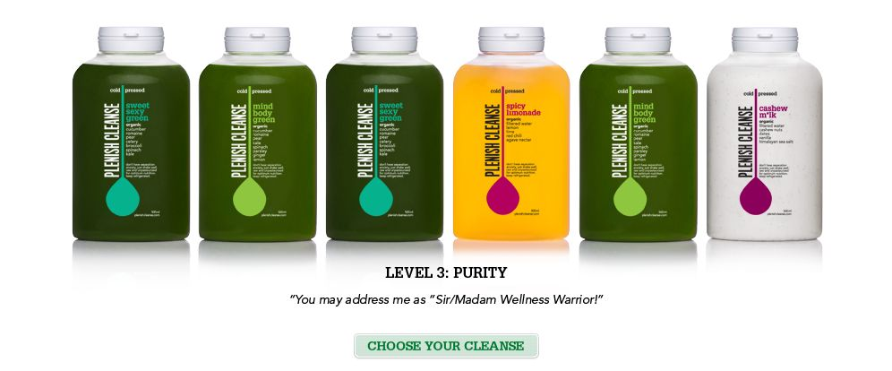 Blueprint Juice - supply of juices delivered to your door - $11 each - new blueprint cleanse green