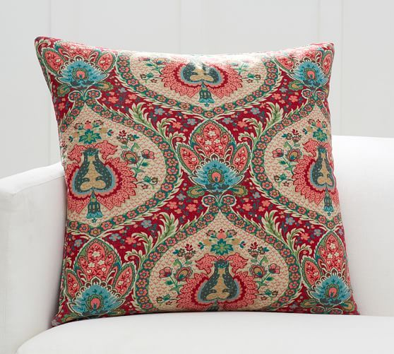 Darcy Paisley Pillow Cover