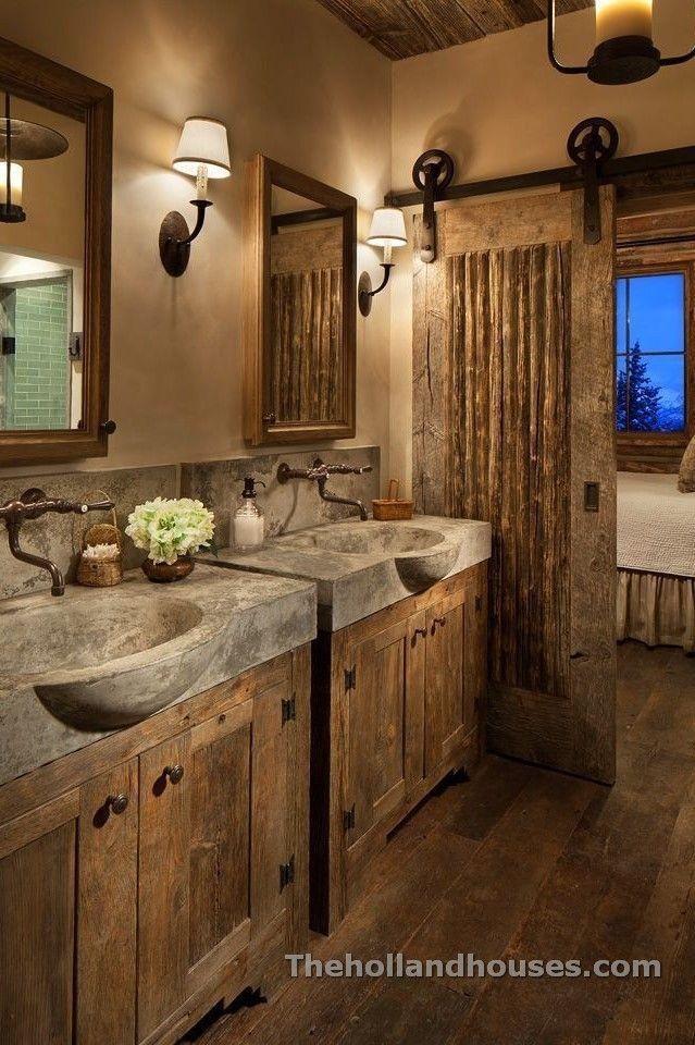 Rustic Bathroom Remodel Ideas Rustic Bathrooms Rustic Bathroom Decor Barn Door Designs