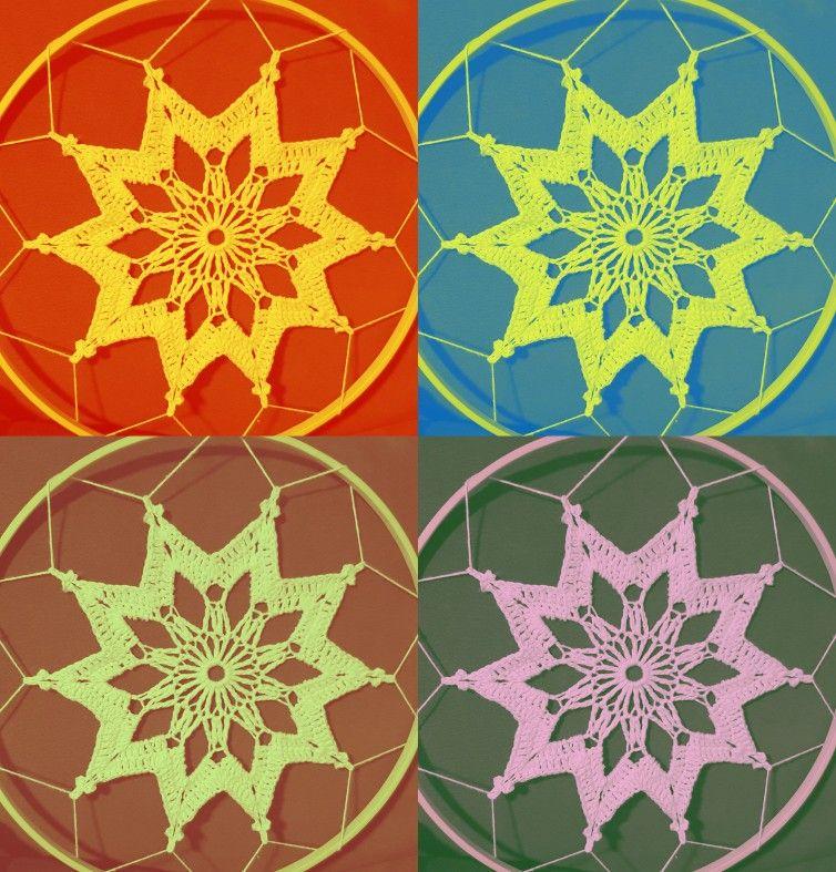 Atrapasueños Tejido Crochet Gratis Paso A Paso Atrapasueños Bolsos De Ganchillo Croché