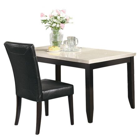 Found it at Wayfair - Alma Dining Table in Cappuccino