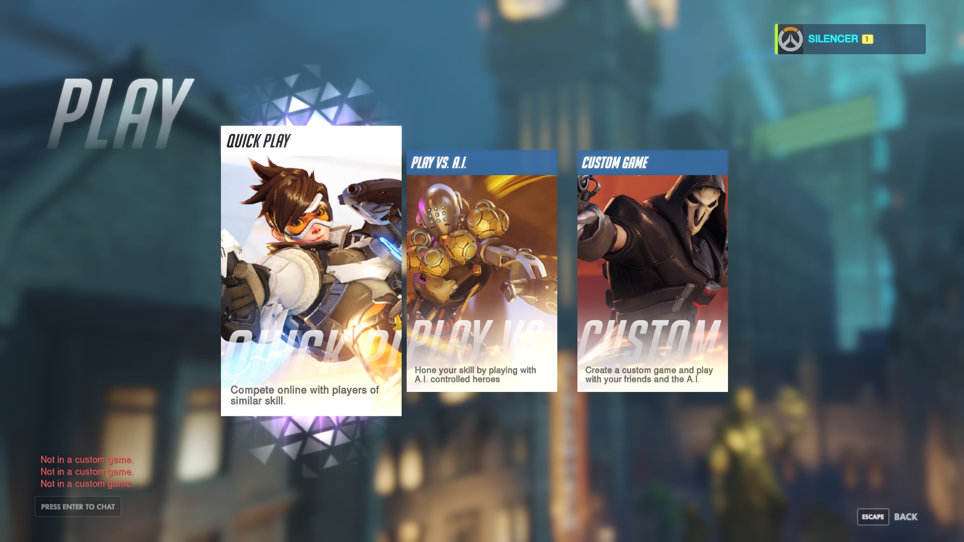 how to turn on ui in overwatch
