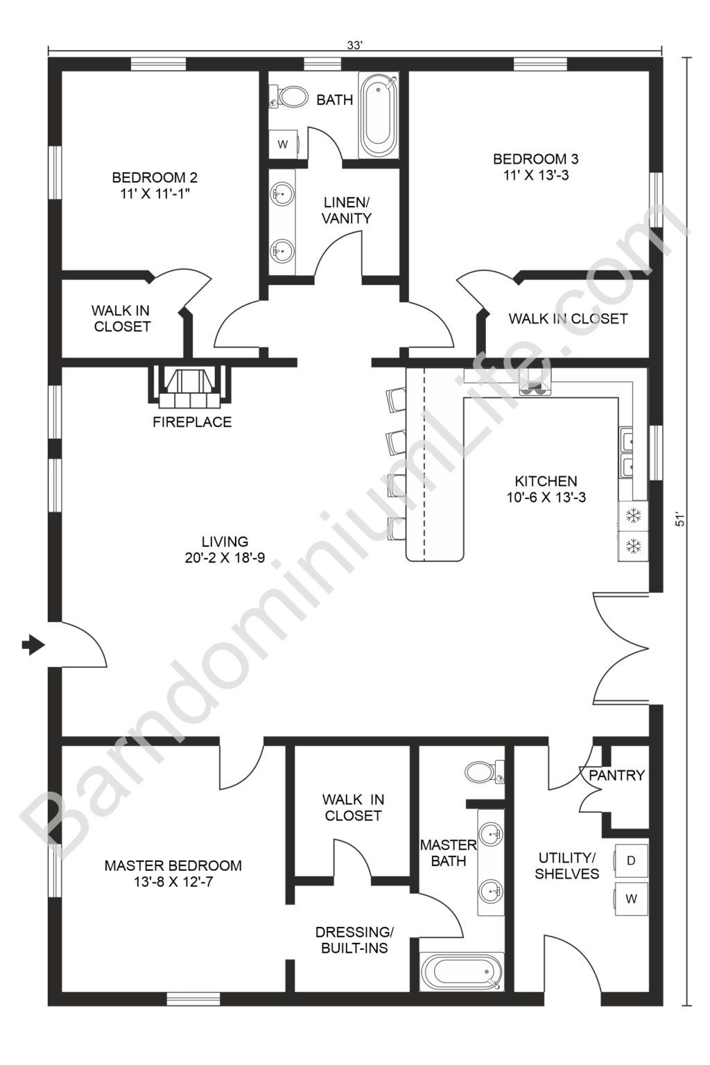 Top 20 Barndominium Floor Plans