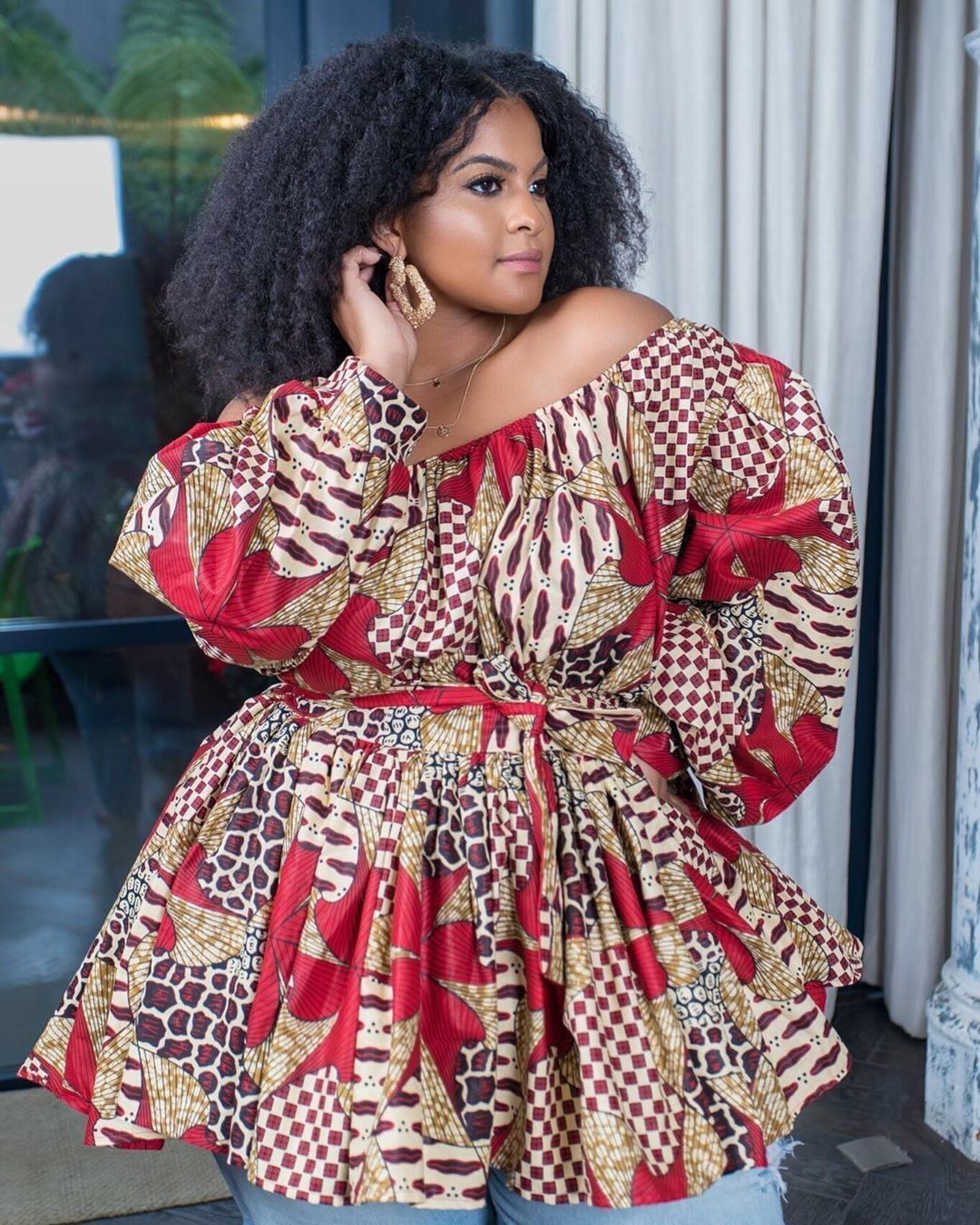Oldie But Goodie The Reasons Why We Love These Wedding Pics African Print Tops African Print Fashion Dresses African Wear Dresses