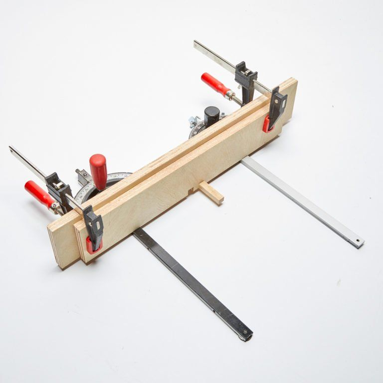 How to Make a Box Joint Jig #familyhandymanstuff