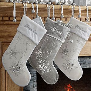 18a9d48dadd Personalized Christmas Stockings - Season s Sparkle - 9139
