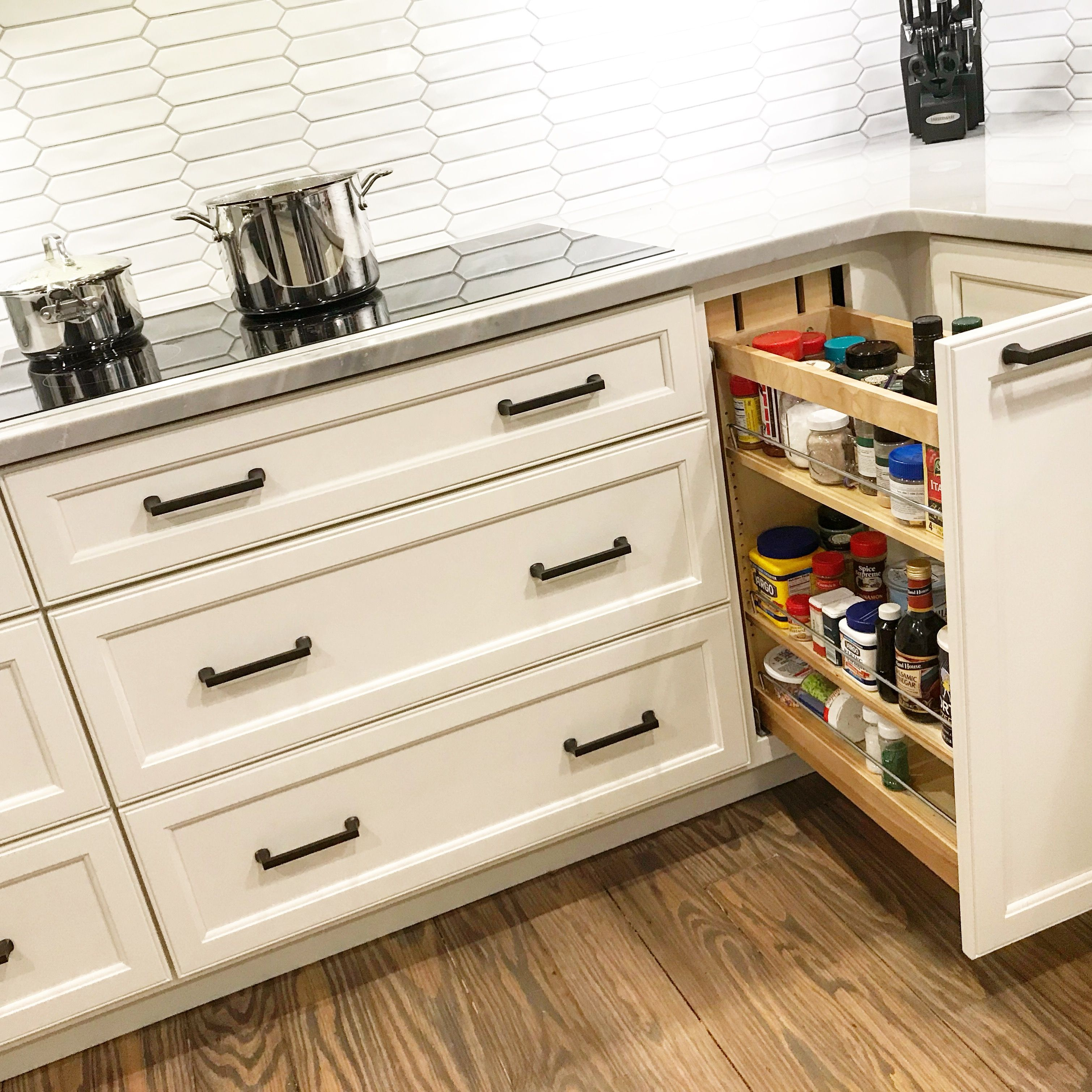 Kitchen Must Haves Open Kitchen Cabinets Pull Out Spice Rack Spice Rack Cabinet Pull Out
