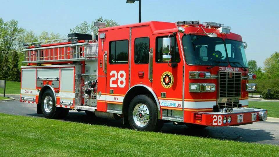 Columbus oh fd engine 28 sutphen pumper modern fire columbus oh fd engine 28 sutphen pumper sciox Gallery