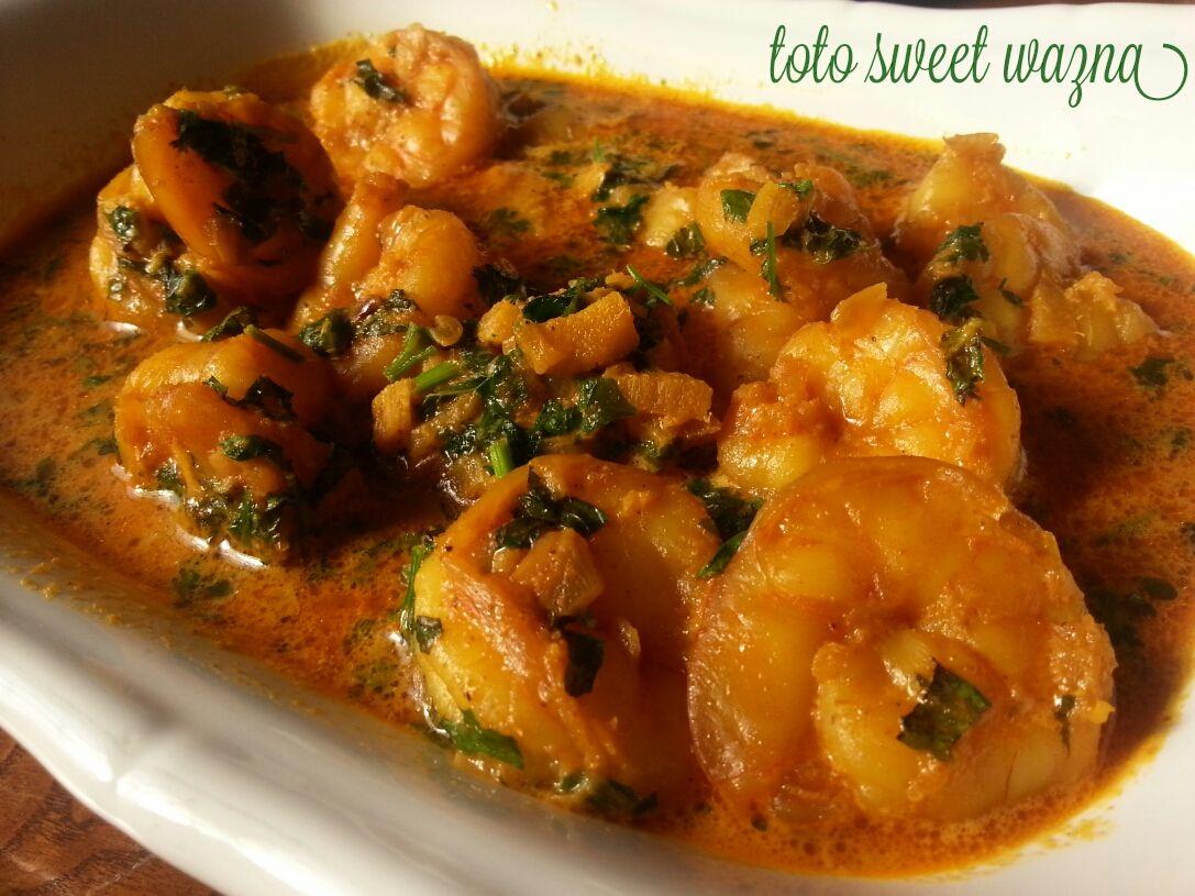 جمبرى بالكاري هندي Recipe Indian Food Recipes Egyptian Food Recipes