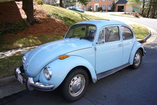My Third Car 1972 Vw Beetle With Sunroof Nostalgie