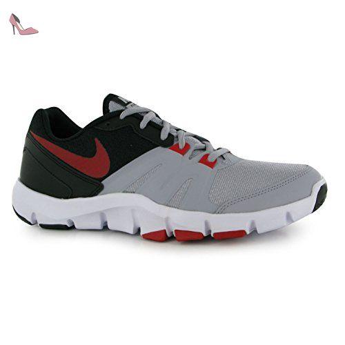 NIKE Flex Show TR4 Formation Chaussures pour Homme Gris/rouge/noir/Fitness  Formateurs