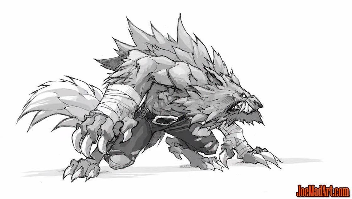 Pin by abby on Werewolves | Zeichnen