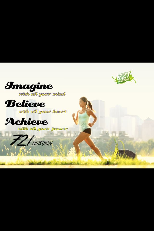 #imagine with all your #mind, #believe with all your #heart, #achieve with all your #power! #721nutrition, #organic #protein containing 7 essential #superfoods! Order yours online now!