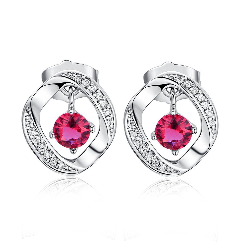 Cubic Zirconia Earrings Seeway Pierced Earrings Hoop Earrings