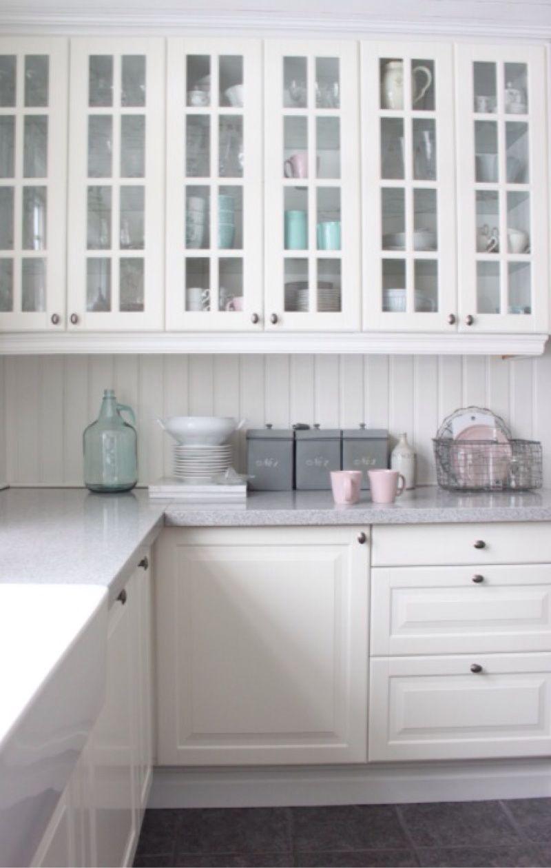Gemütlich Weiße Küchenschranktüren Refacing Fotos - Küchen Design ...
