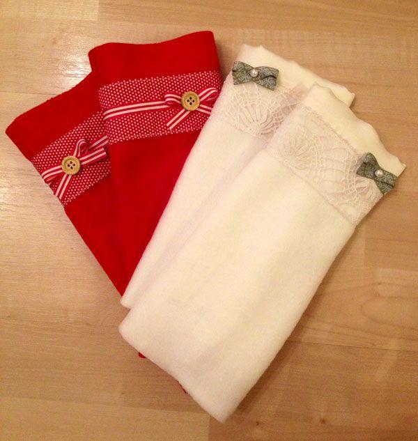 Kuschelige Armstulpen - Handmade Kultur