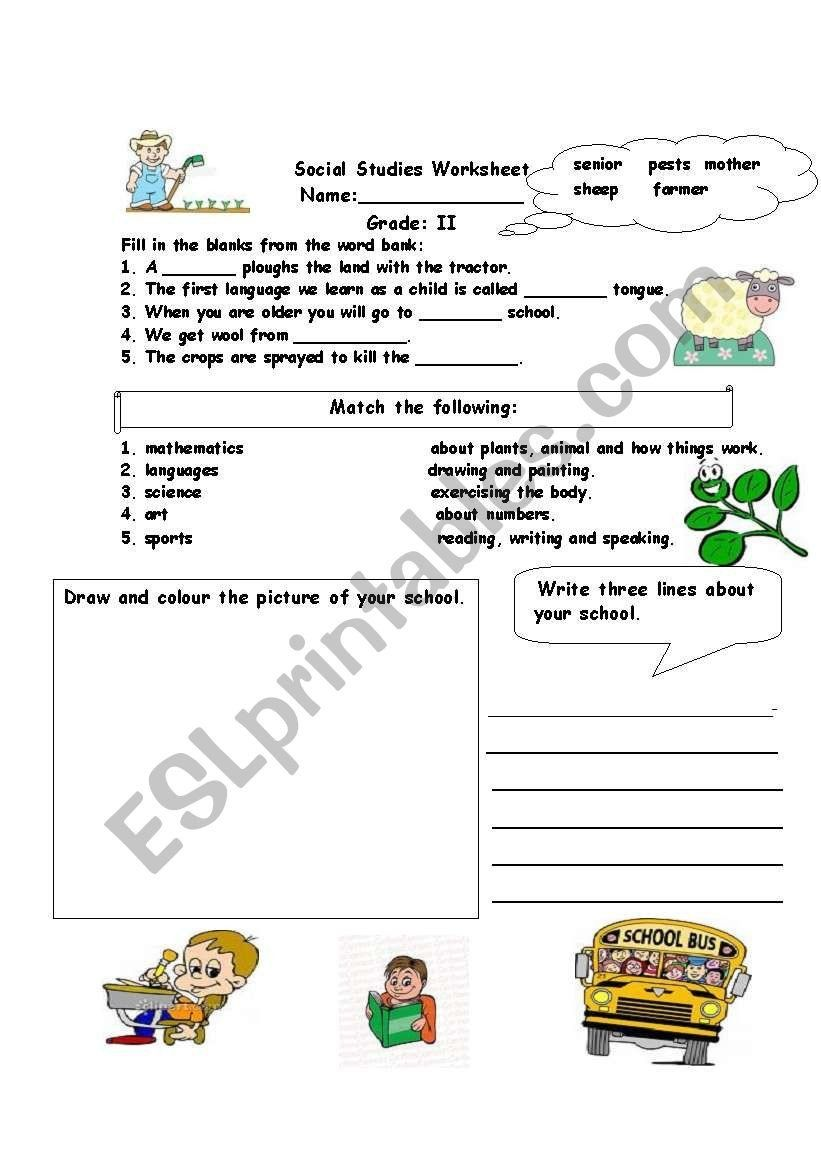 small resolution of Social Studies Worksheets Grade 6 social Stu S assessment Worksheet Esl  Worksh…   Social studies worksheets