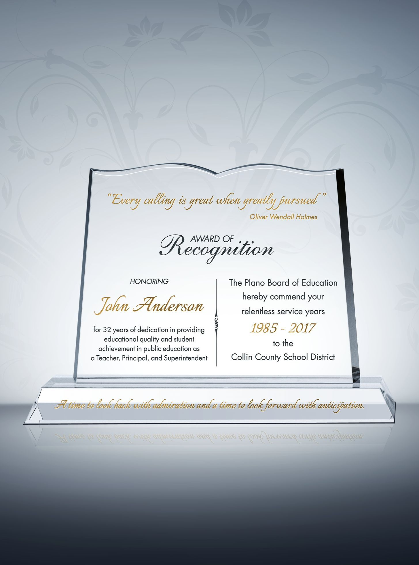 Those Searching For Teacher Recognition Award Ideas Should Consider The Beautifully Designed Spec Recognition Plaques Teacher Awards Teacher Appreciation Gifts