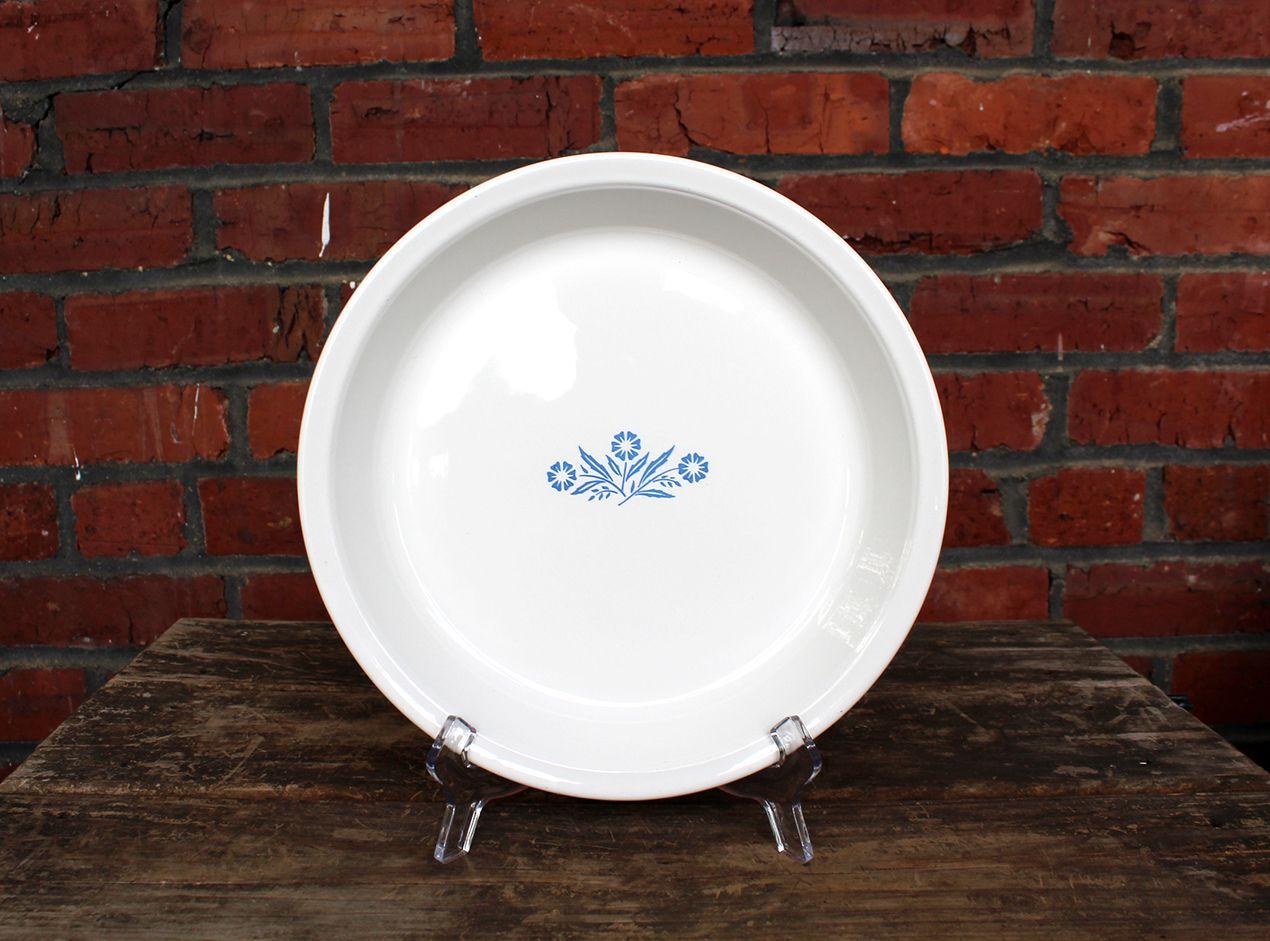 Corning Ware 9″ Pie Baking Dish – Blue Cornflower #P-309 – Vintage Corningware #381 #dishware