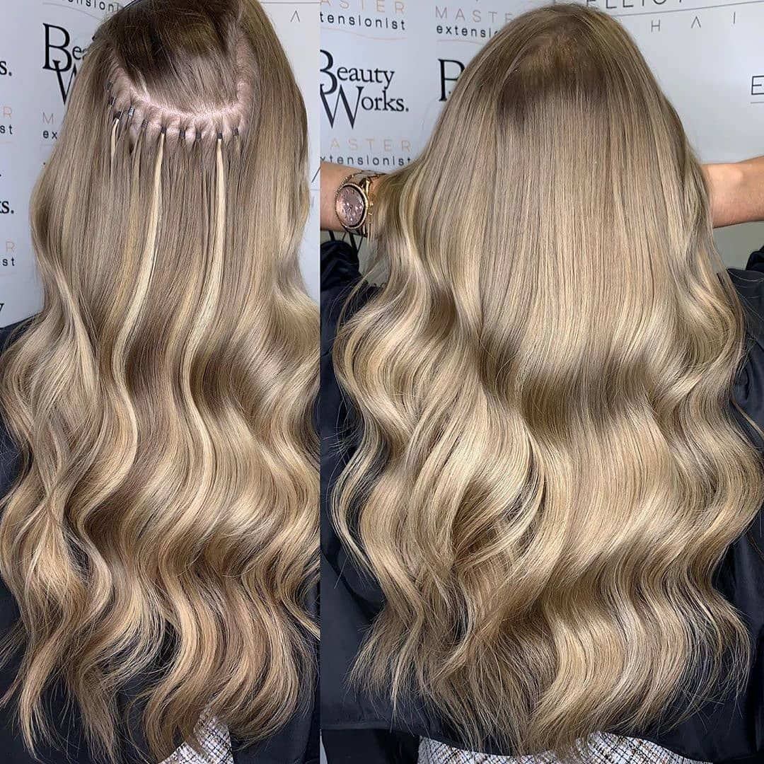 Beauty Works Hair Extensions On Instagram 𝘿𝙞𝙨𝙘𝙧𝙚𝙚𝙩 𝙗𝙡𝙚𝙣𝙙 150 Grams Of 18 Stick Tip Extensions In Sh Beauty Works Hair Extensions Hair Beauty